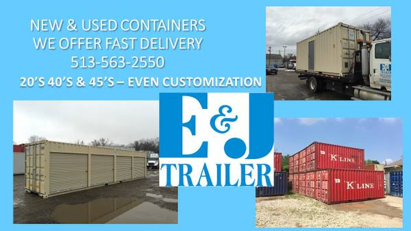 Steel Storage/Shipping Containers For Sale (Lockland) $1300