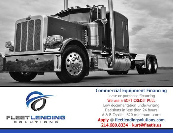 Truck, Trailer, AG & Construction Equipment Financing (Ft Myers)