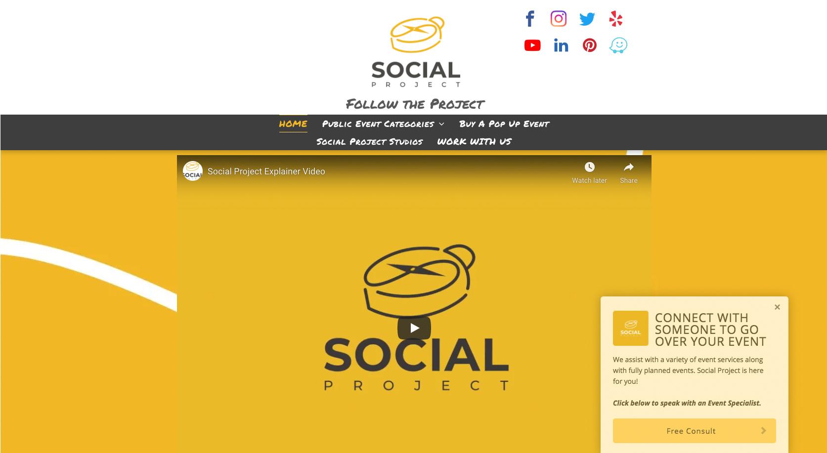 Social Project Dallas
