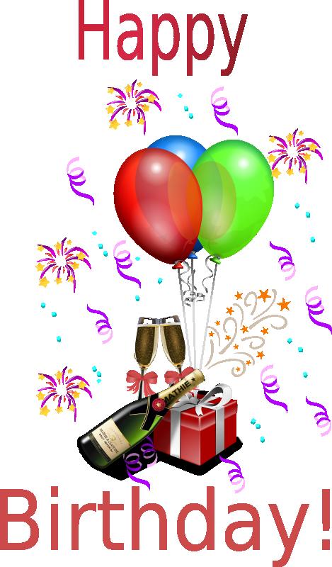 Birthday Clipart For Him : birthday, clipart, Birthday, Clipart,, Animations, Vectors