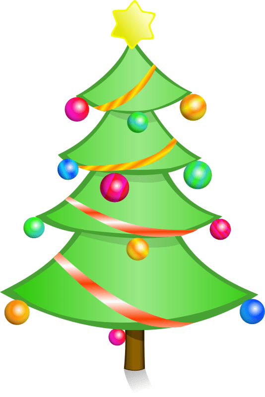 Christmas Tree Clipart Free : christmas, clipart, Christmas, Clipart, Holiday, Graphics