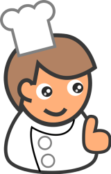 clipart chef chefs cartoon transparent simple cooks vector food staff graphics graphic bakers scalable both quality