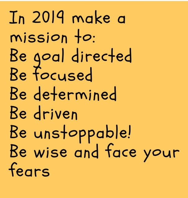 A Mission For 2019