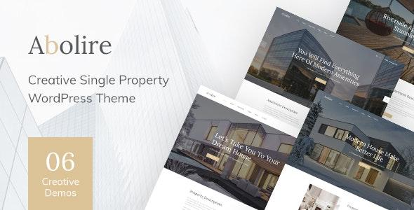 Abolire - Single Property WordPress Theme 1