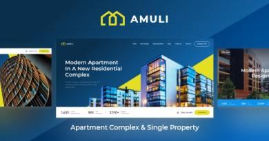 Amuli | Single & Multiple Property Real Estate WordPress Theme 2