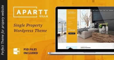 APARTT VILLA - Single Property Real Estate WordPress Theme 10