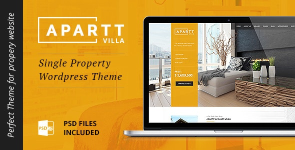 APARTT VILLA - Single Property Real Estate WordPress Theme 10