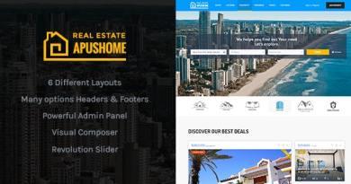 ApusHome - Real Estate WordPress Theme 4