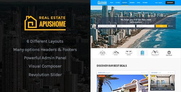 ApusHome - Real Estate WordPress Theme 3