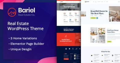Bariel - Real Estate WordPress Theme 4