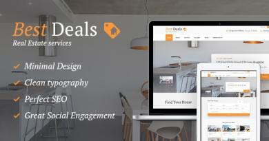 Best Deals - A Modern Property Sales & Rental WordPress Theme 2