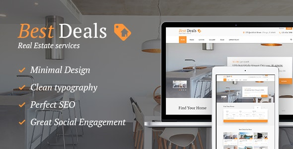Best Deals - A Modern Property Sales & Rental WordPress Theme 7