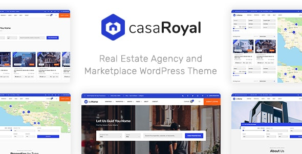 casaRoyal - Real Estate WordPress Theme 1