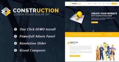 Construction – WordPress Theme for Renovation Business 3