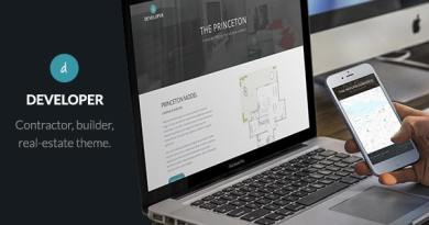 Developer - Builder, Contractor, Developer WP Theme 3