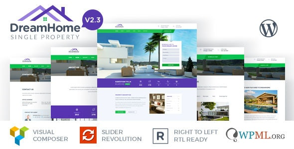DreamHome - Single Property WordPress Theme 1