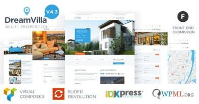 DreamVilla - Real Estate WordPress Theme 4