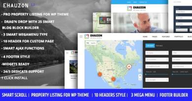 Ehauzon - Property Listing for WordPress Theme 3