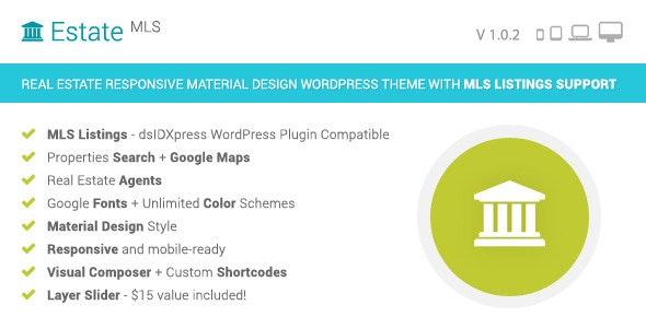 EstateMLS - Real Estate MLS WordPress Theme 1