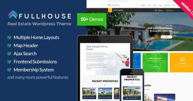 FullHouse - Real Estate Responsive WordPress Theme 4