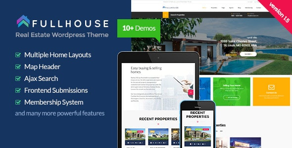 FullHouse - Real Estate Responsive WordPress Theme 18
