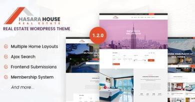 Hasara House - Real Estate Responsive WordPress Theme 3