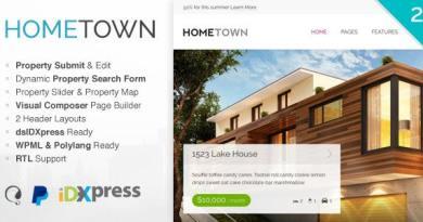 Hometown - Real Estate WordPress Theme 2