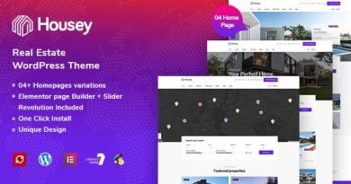 Housey - Real Estate WordPress Theme 4