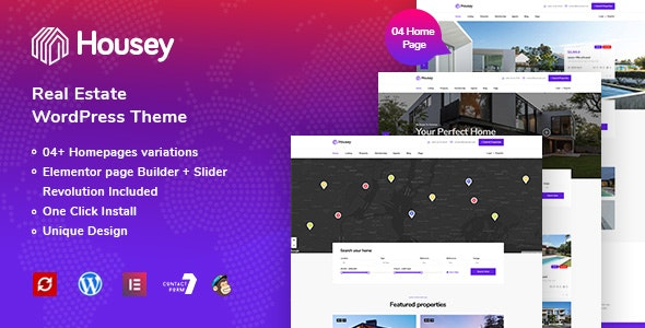 Housey - Real Estate WordPress Theme 7