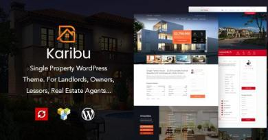Karibu - Single Property Theme 3
