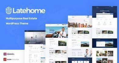 LateHome - Real Estate WordPress Theme 3