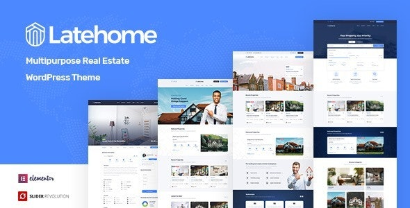 LateHome - Real Estate WordPress Theme 1