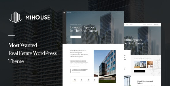 Mihouse – Single Property WordPress Theme 1