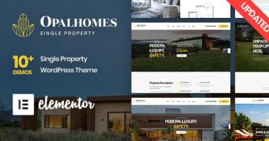 Opalhomes - Single Property WordPress Theme 3