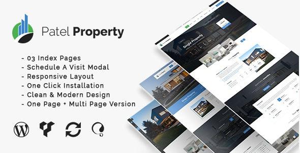 PatelProperty - Single Property Real Estate WordPress Theme 7