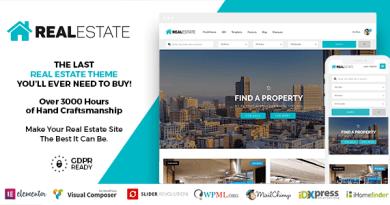 Real Estate 7 WordPress 3