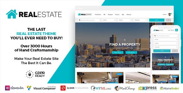 Real Estate 7 WordPress 7