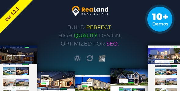 ReaLand - Real Estate Responsive WordPress Theme 1
