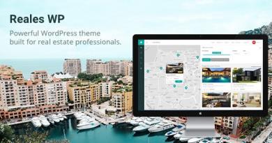 Reales WP - Real Estate WordPress Theme 4