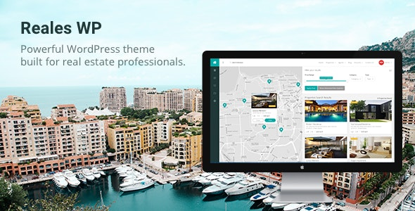 Reales WP - Real Estate WordPress Theme 1