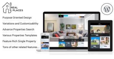 RealPlaces - Estate Sale and Rental WordPress Theme 3