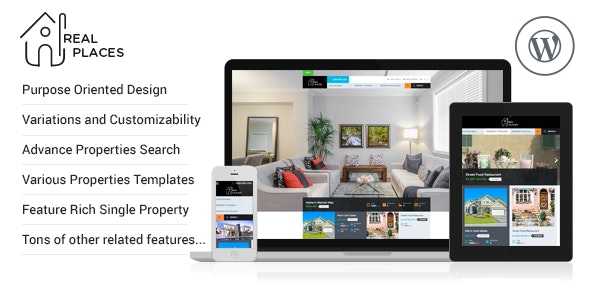 RealPlaces - Estate Sale and Rental WordPress Theme 8