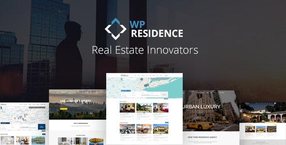 Residence Real Estate WordPress Theme 1
