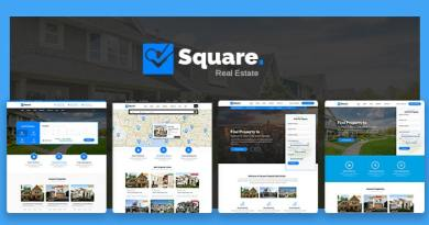 Square - Real Estate WordPress Theme 4