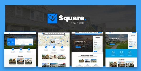 Square - Real Estate WordPress Theme 1