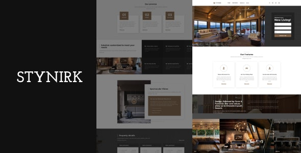 Stynirk - Single Property WordPress Theme 1