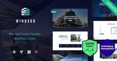 Windsor - Apartment Complex / Single Property WordPress Theme 3
