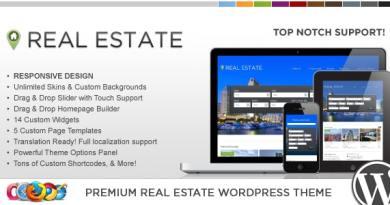 WP Pro Real Estate 4 Responsive WordPress Theme 3
