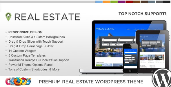 WP Pro Real Estate 4 Responsive WordPress Theme 5