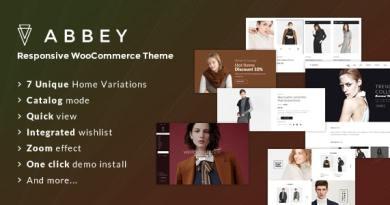 Abbey - Responsive WooCommerce Theme 2